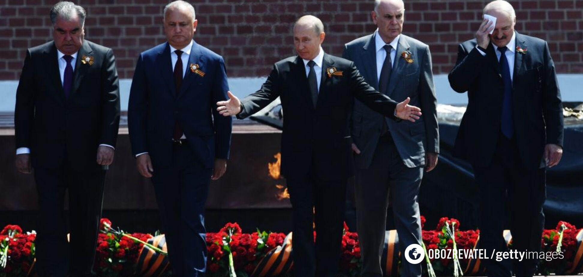 Війна на порозі, або Навіщо Путіну парад