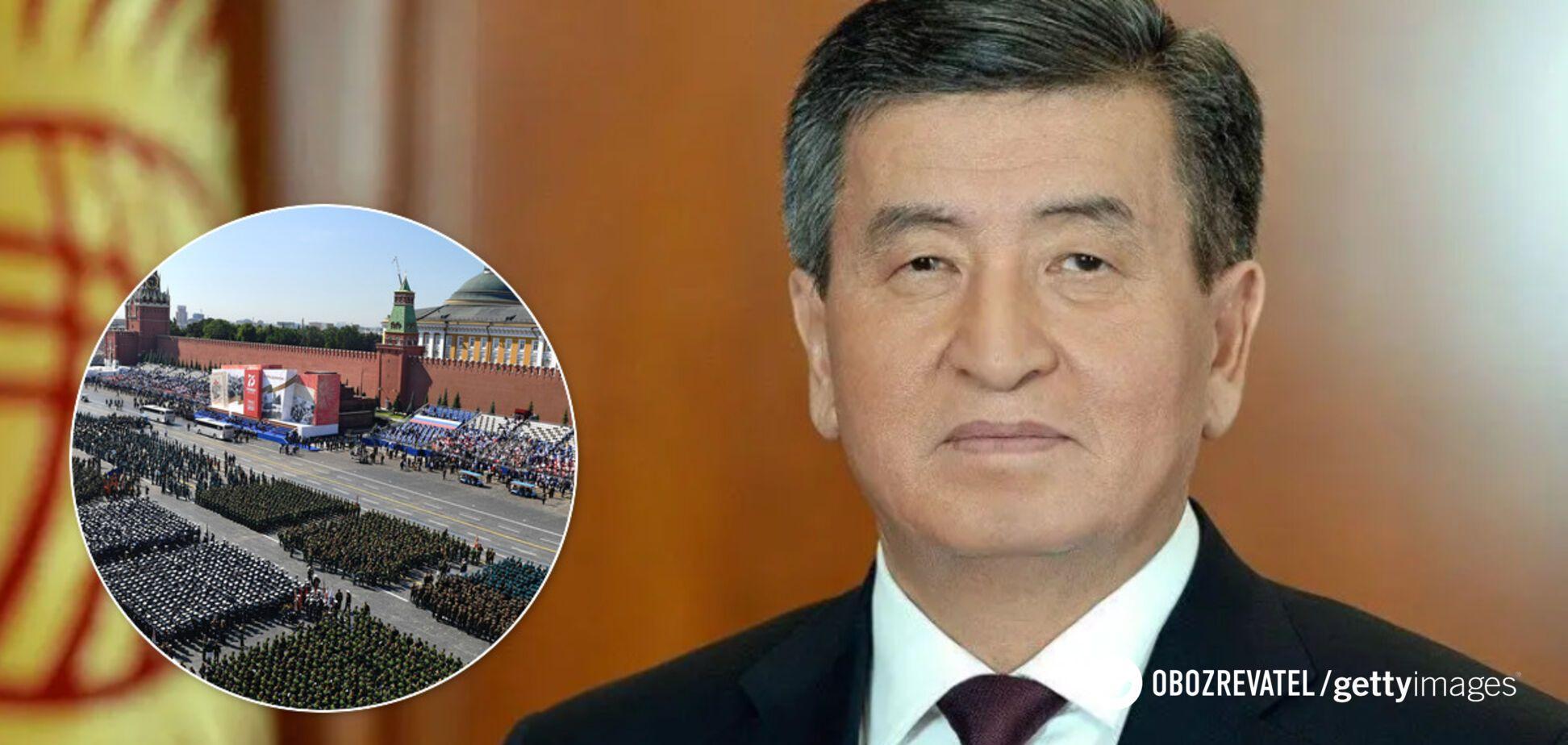 Президент Киргизстану Сооронбай Жеенбеков пройшов тест на коронавірус