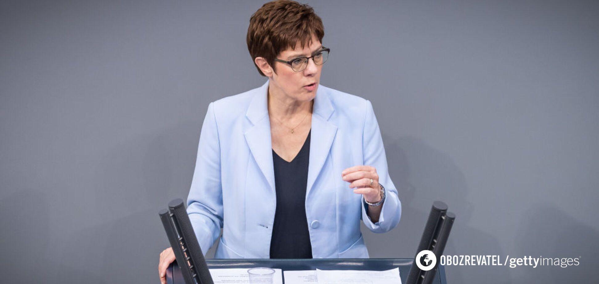 Глава Бундесвера Аннегрет Крамп-Карренбауэр заявила о готовности НАТО противостоять России