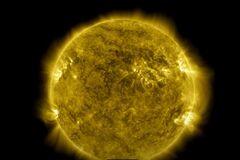 10 лет жизни Солнца показали за один час