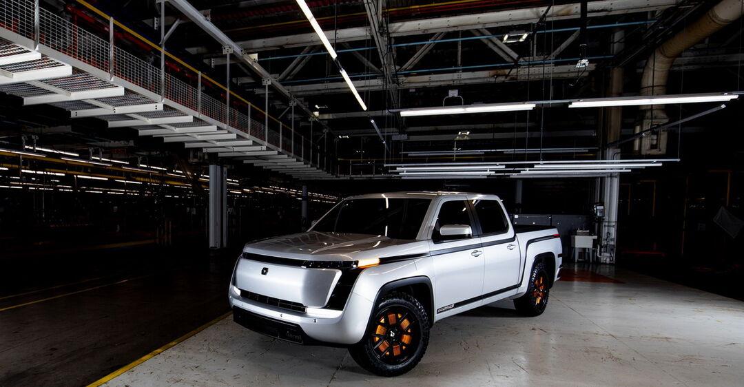 Американская компания Lordstown Motors презентовала электрический пикап