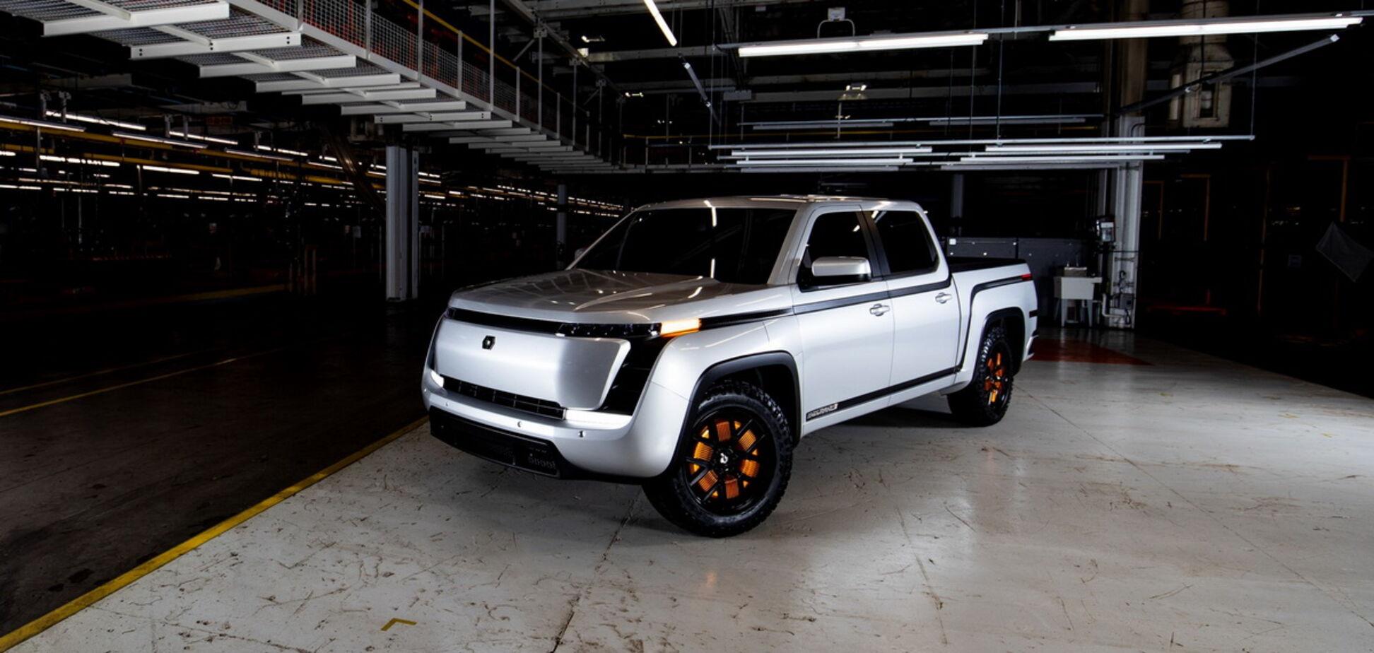 Американська компанія Lordstown Motors презентувала електричний пікап