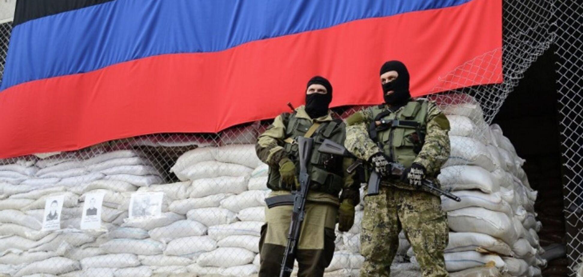 Терористи на Донбасі (джерело: 24 канал)