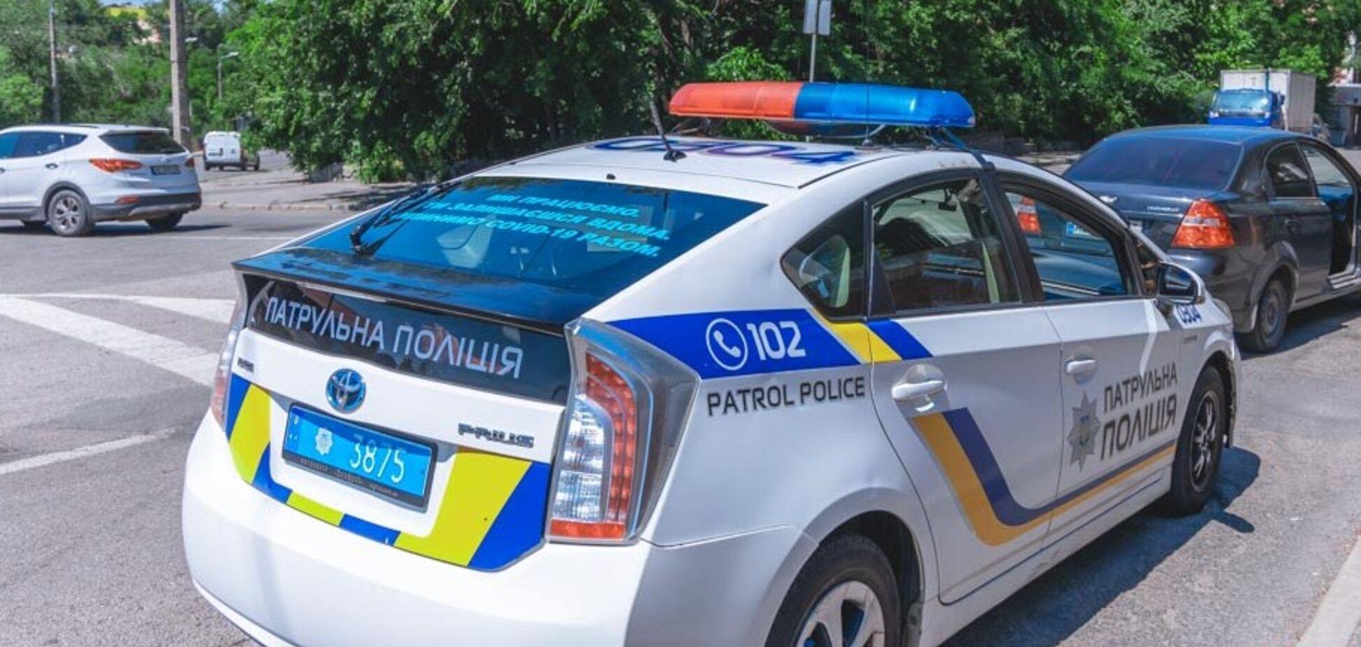 В результате ДТП в центре Днепра пострадал велосипедист. Фото