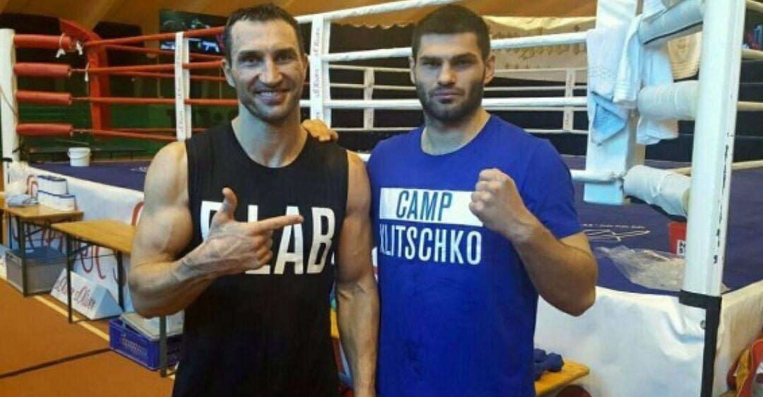 Владимир Кличко и Филип Хргович
