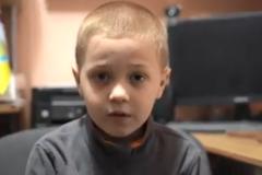 Школьник Артем с Донбасса рассказал о детстве во время войны