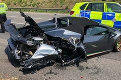 Новий Lamborghini знищили за 20 хвилин після купівлі