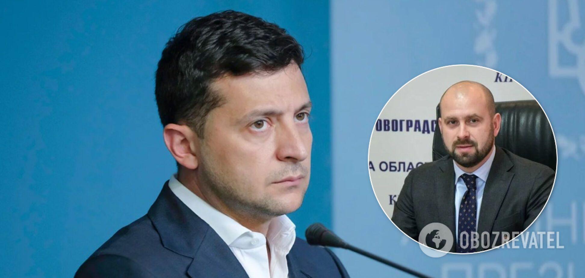 Владимир Зеленский уволил Андрея Балоня