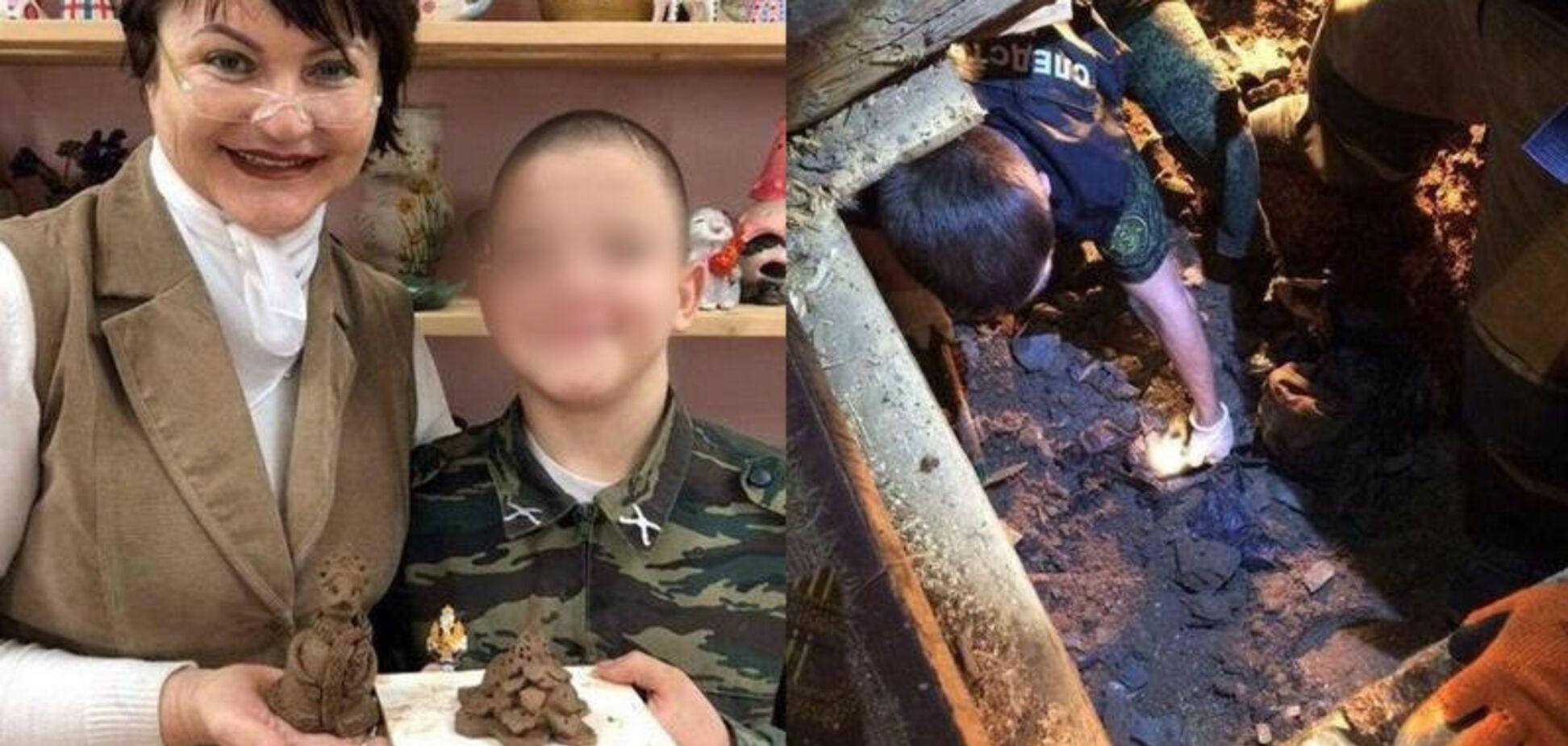 Галина Морозова і Сашко Парахняков
