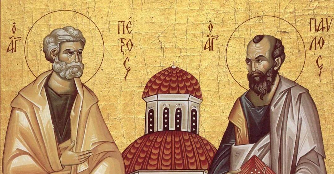 Петр и Павел после смерти и воскресения Спасителя проповедовали Евангелие по всему миру