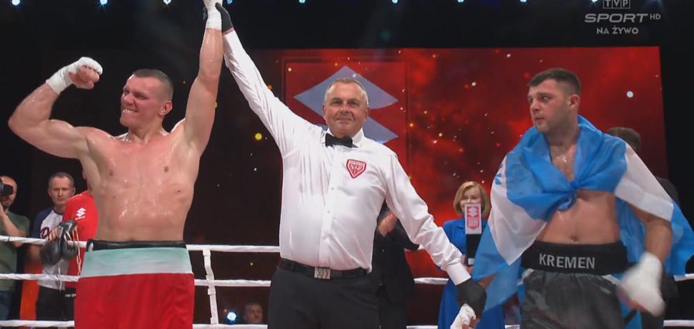 Український боксер зазнав розгромної поразки в Польщі, потрапивши в нокдаун