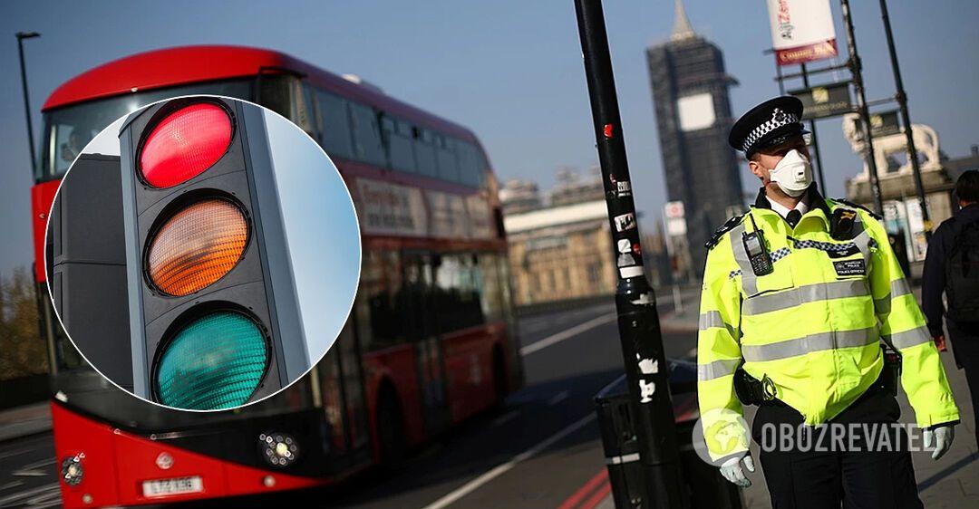 Британия введет 'систему светофора'