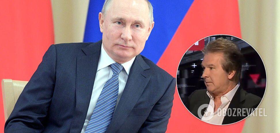 Юрий Швец и Владимир Путин