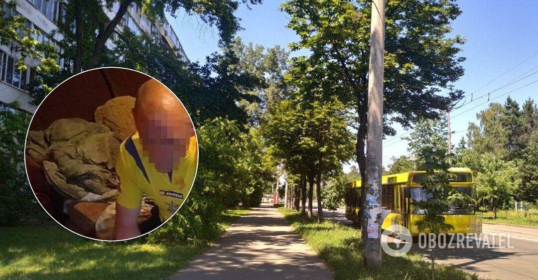 В Киеве крестный избил мальчика
