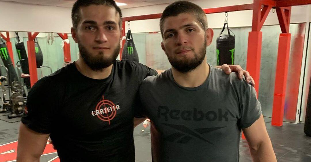 Рустам Сербиев и Хабиб Нурмагомедов