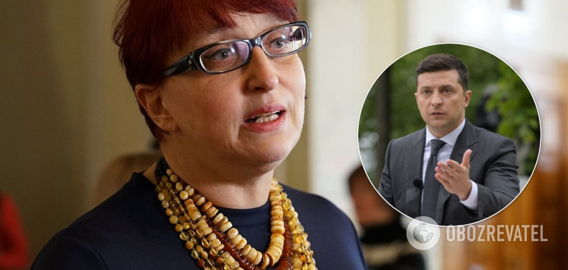 Третьякова рассказала о реакции Зеленского на скандал