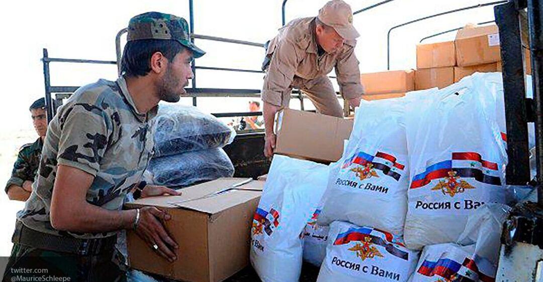 Гуманитарный пиар РФ: вводи войска, уничтожай города, а потом раздавай одеяла и крупы