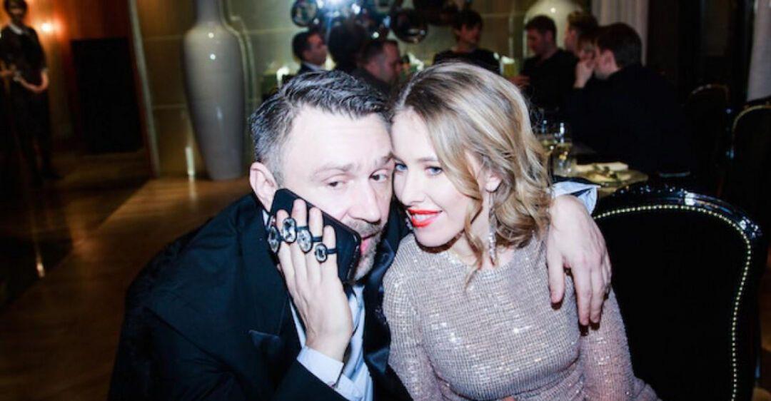 Ксения Собчак и Сергей Шнуров (Фото – Nashe.ru)