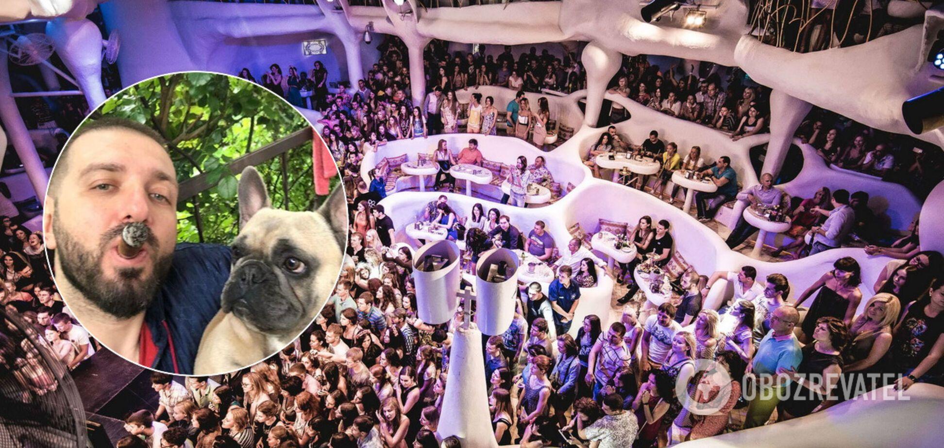 Бізнесмен погуляв в клубі Ibiza на 124 тисячі гривень і похвалився цим