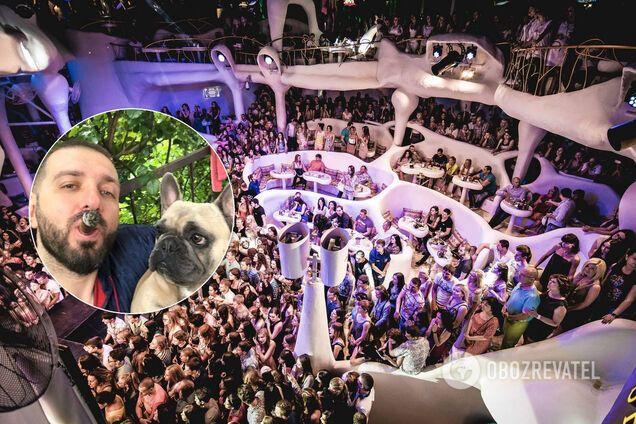Бизнесмен погулял в клубе Ibiza на 124 тысячи гривен и похвастался этим