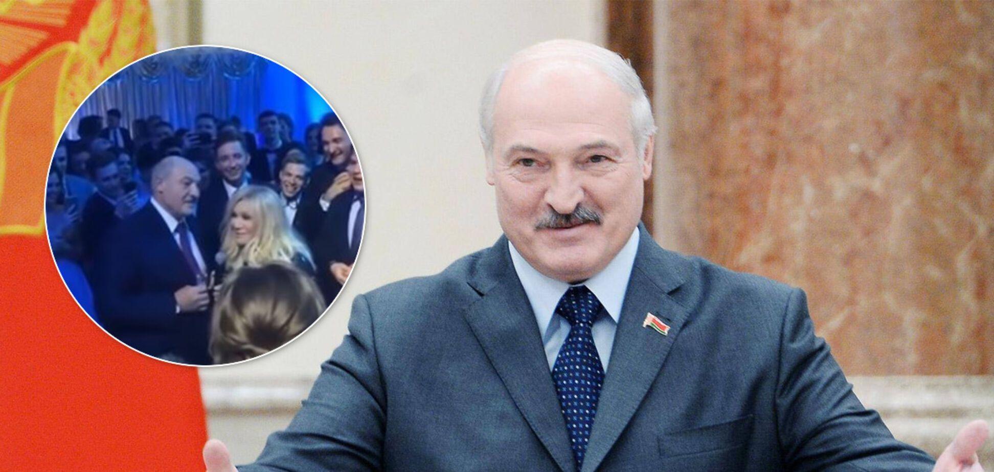 Олександр Лукашенко танцював під Таїсію Повалій