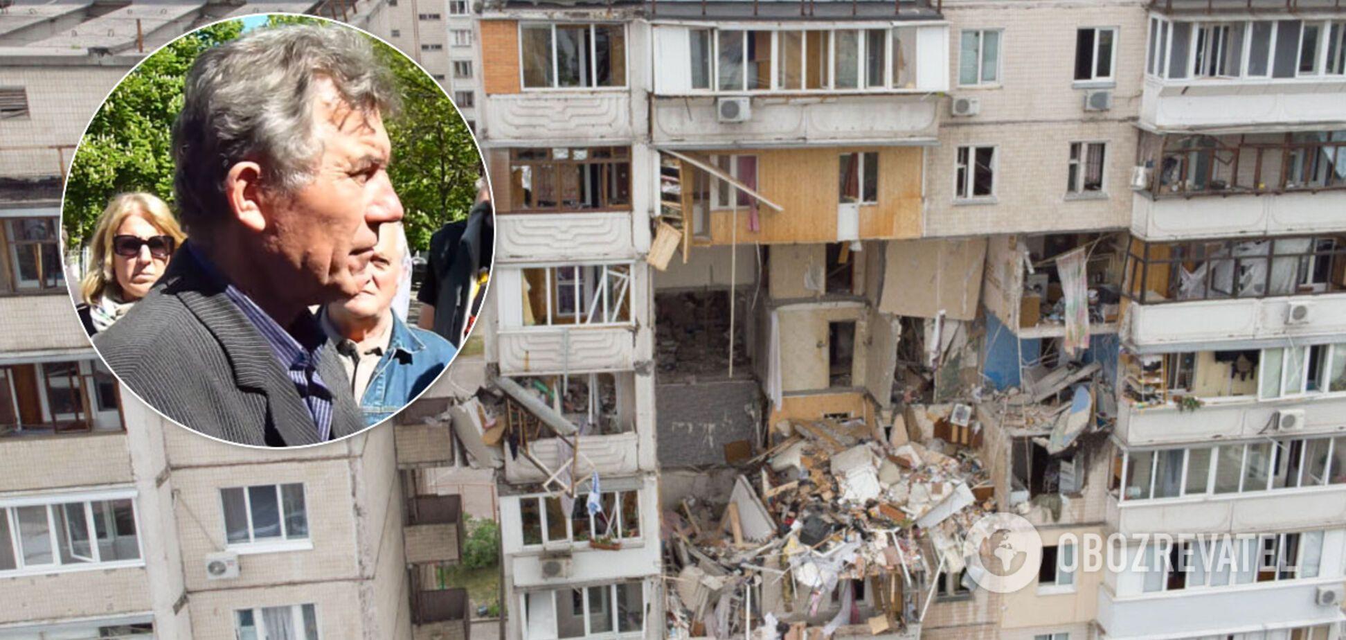 Під час вибуху будинку на Позняках загинув син Анатолія Хмільового