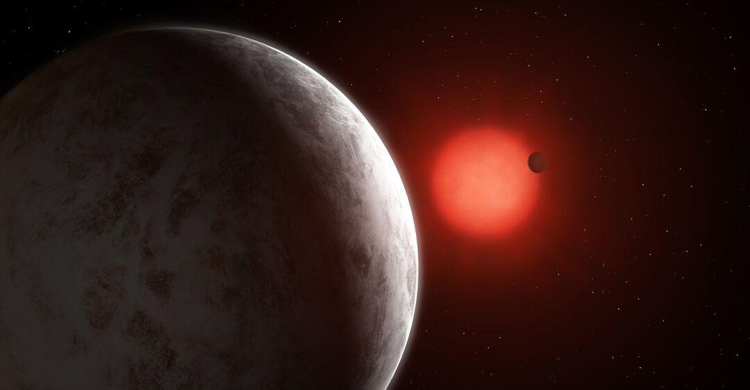 Две суперземли найдены у красного карлика Gliese 887