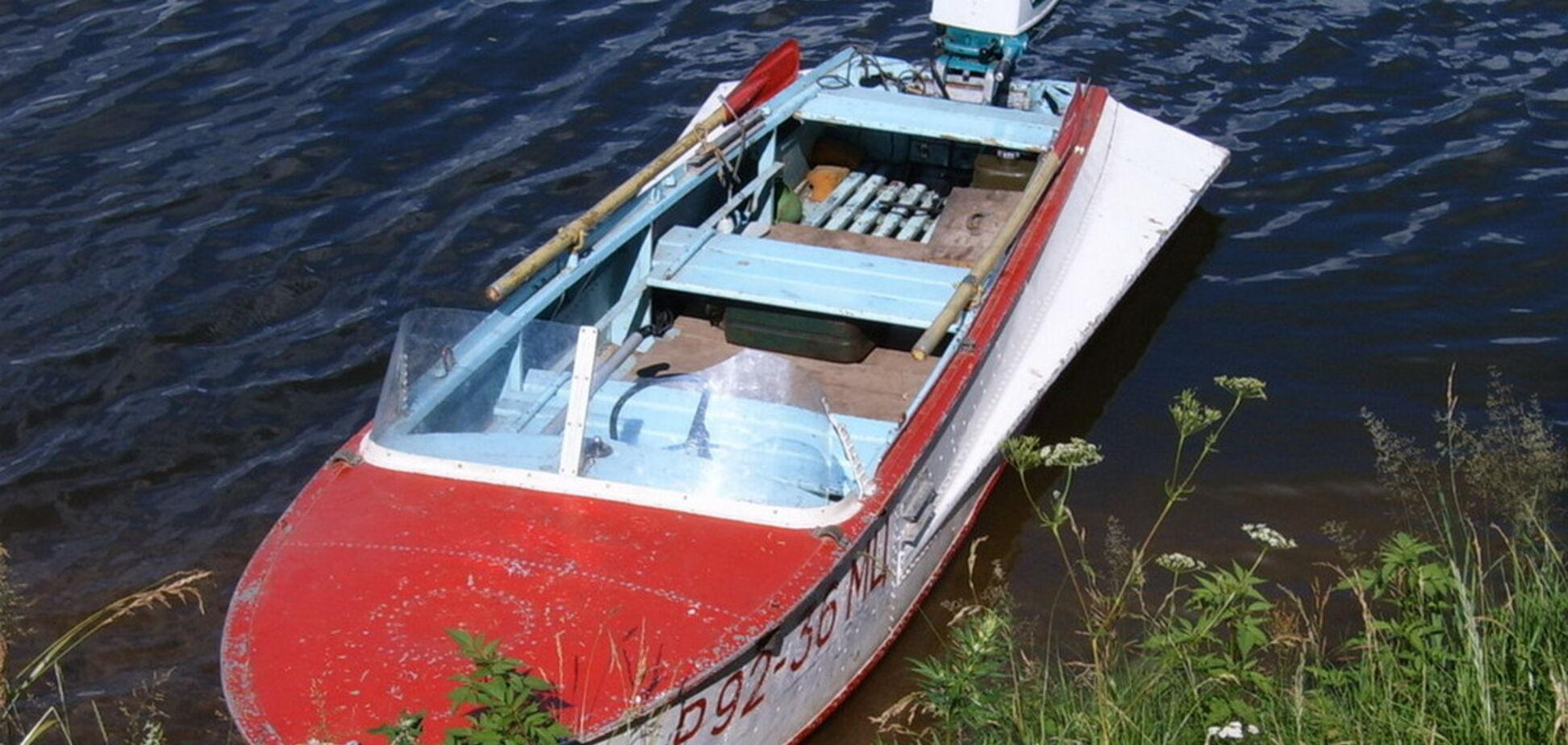 Под Днепром женщину сбила лодка