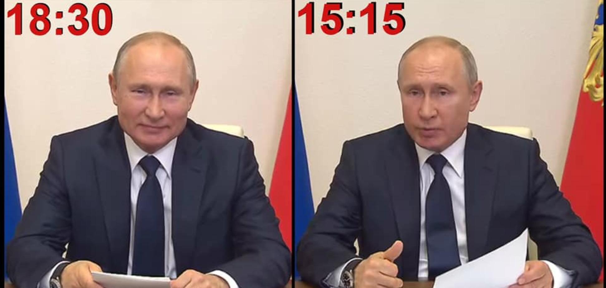 Путин и двойник