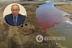 Путин разозлился из-за разлива топлива в Норильске