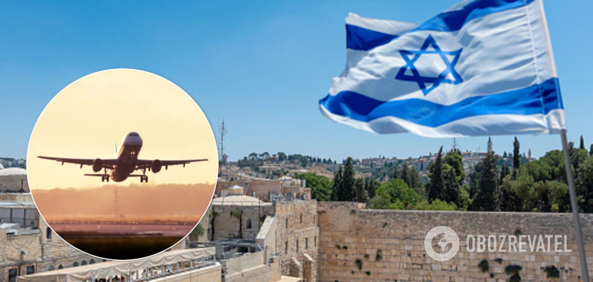 Израиль открыл авиасообщение с Украиной