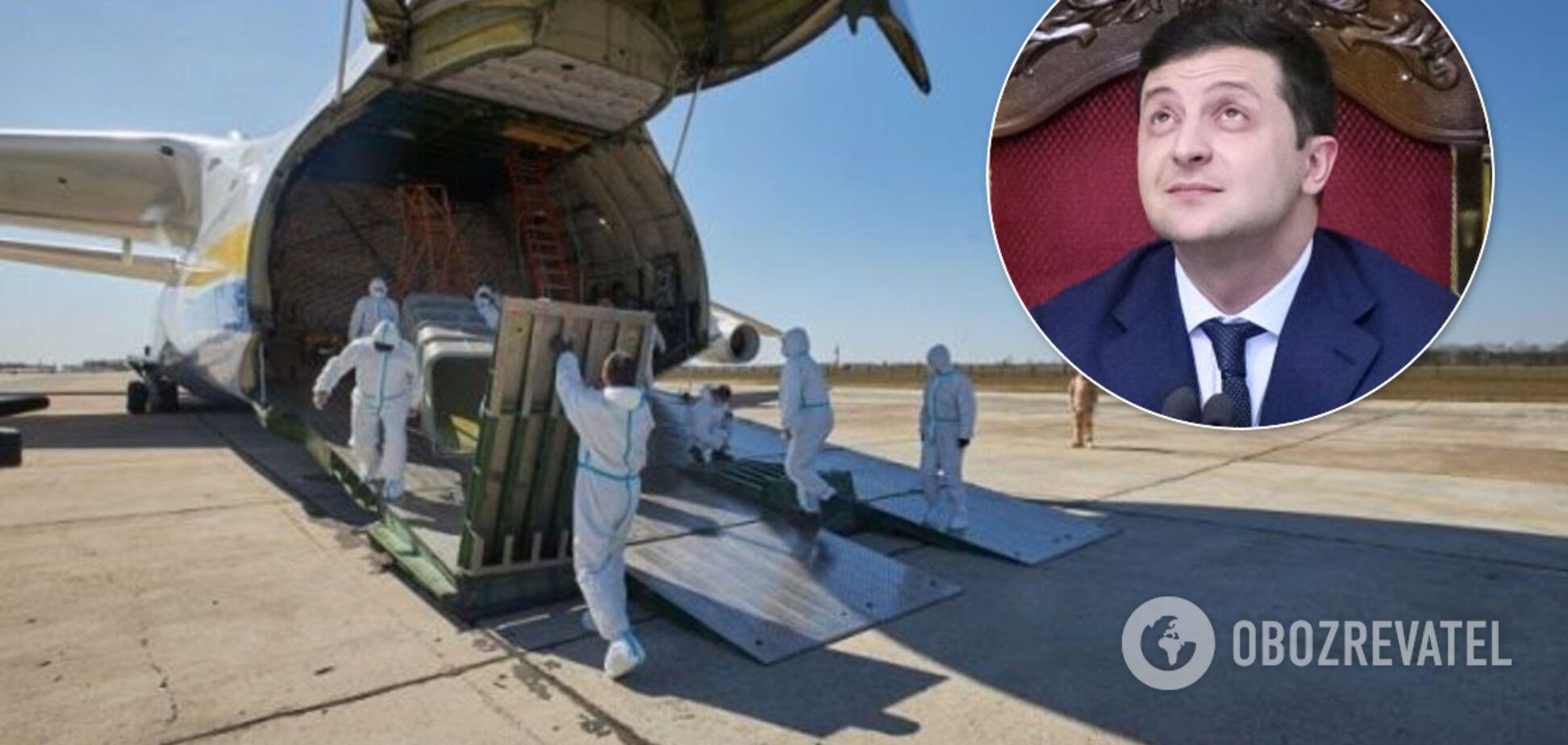 Воровство во время пандемии: Зеленский замолчал тему о мародерстве гуманитарки