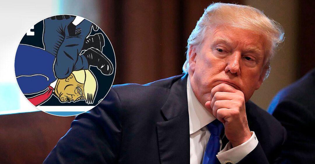 Занял место Джорджа Флойда: Трампа поместили на обложку скандального журнала Charlie Hebdo