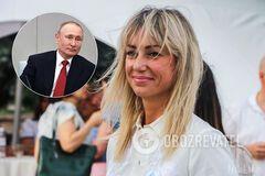 Домбровську запідозрили в любові до Путіна