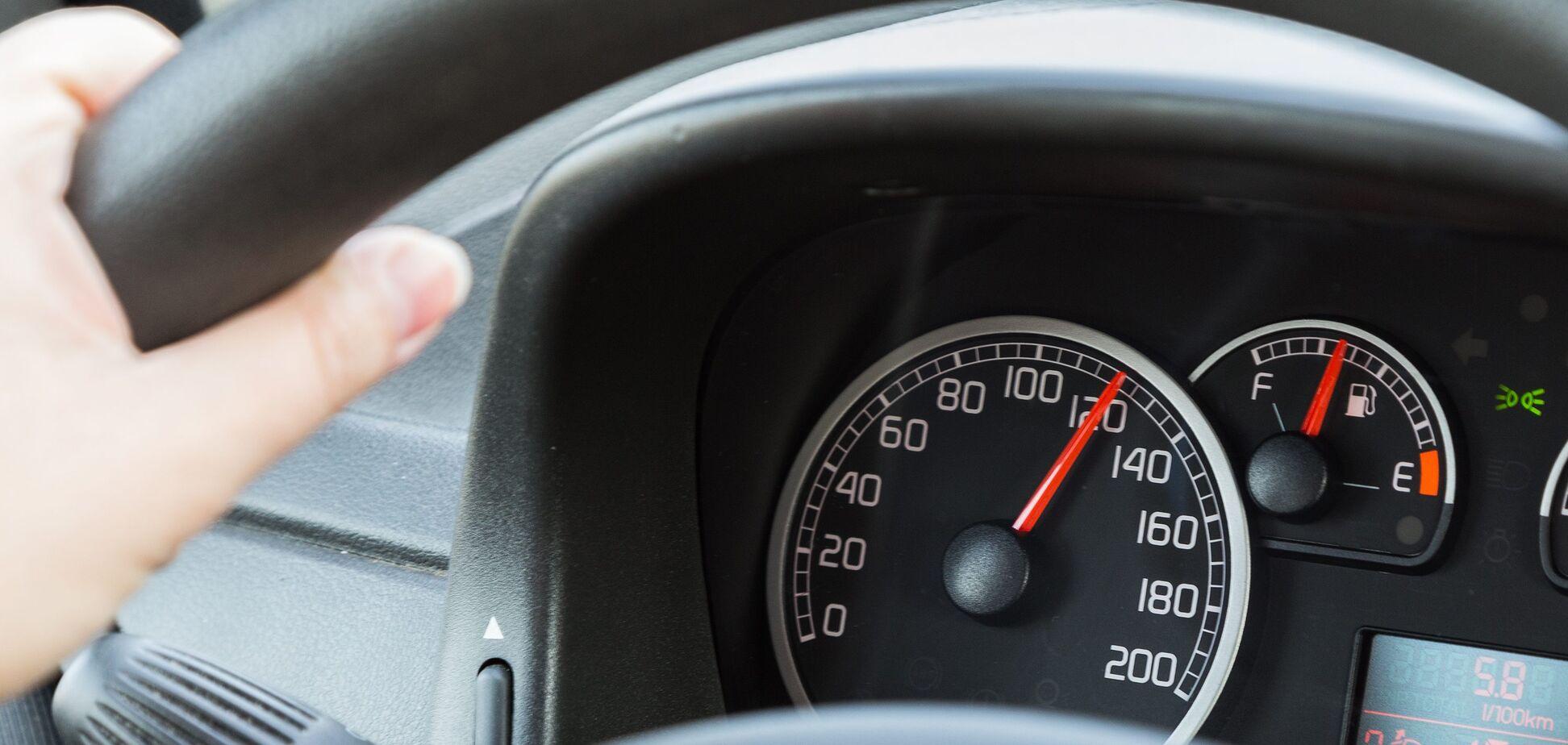 Превышение скорости (источник: Новости Нежина)
