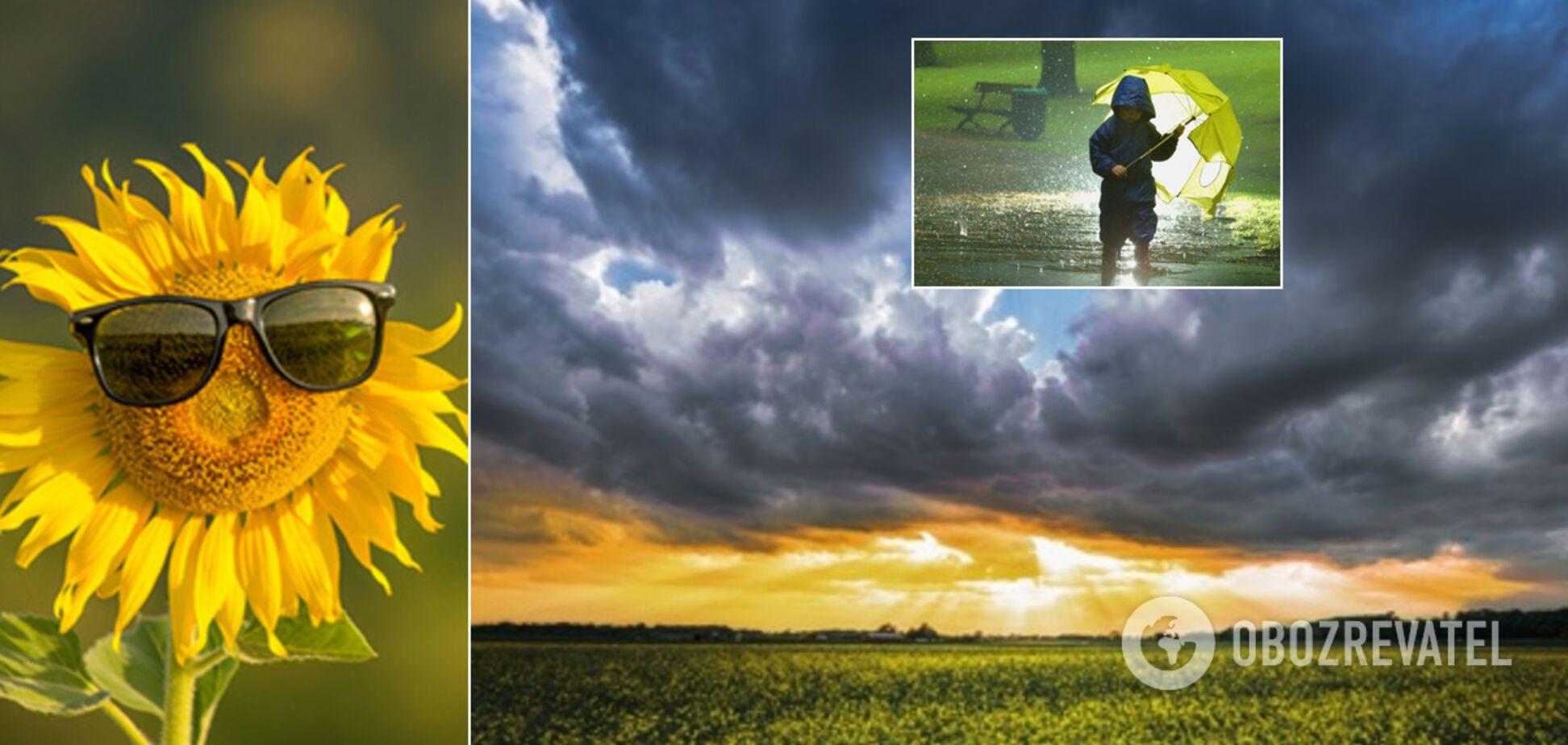Погода в Украине на 1 июля