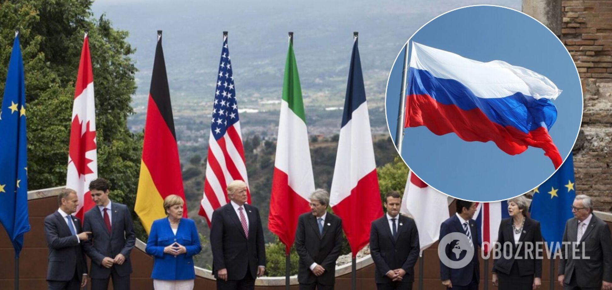 В Британии поставили категоричное условие возвращения России в G7