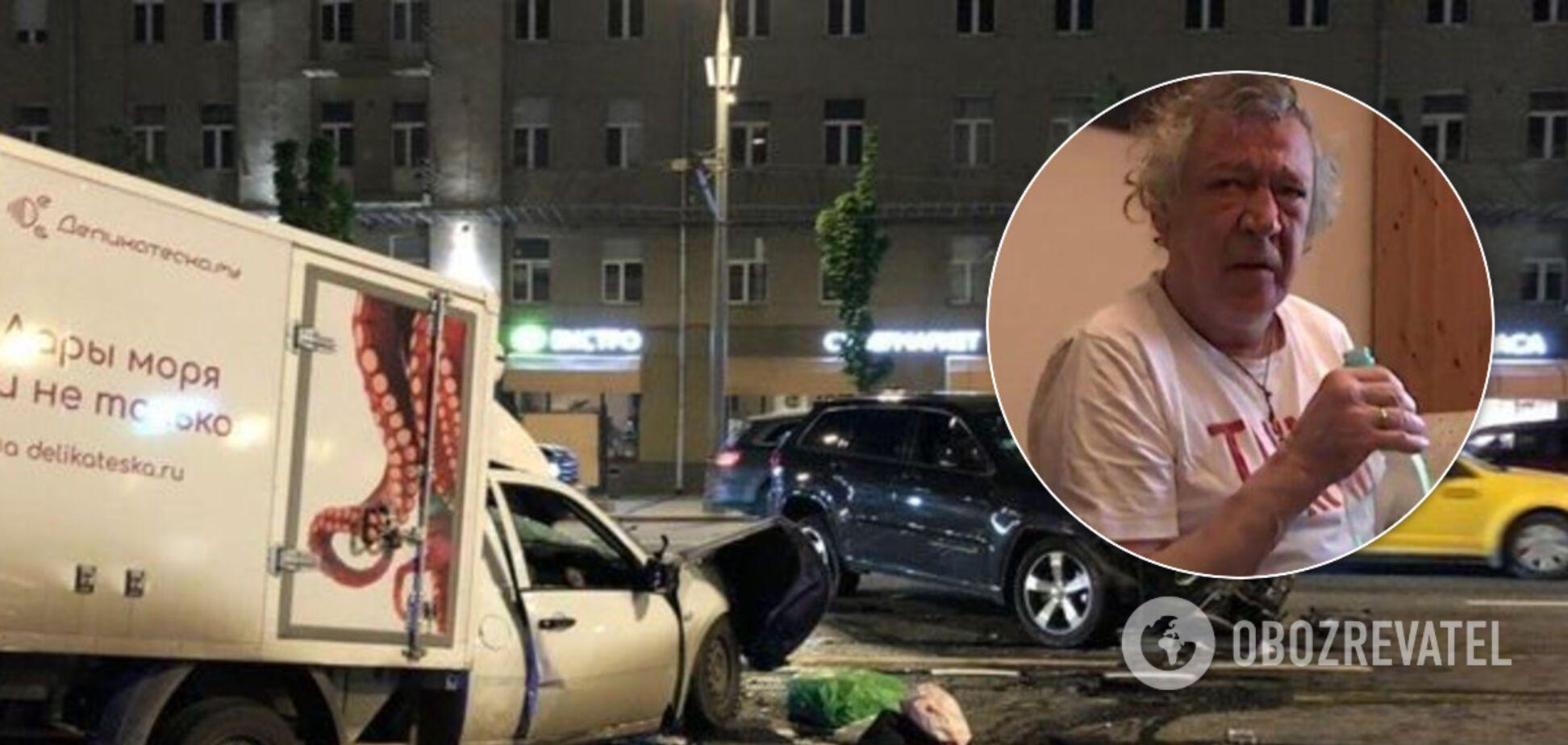 Михаил Ефремов 8 июня устроил смертельное ДТП (коллаж)