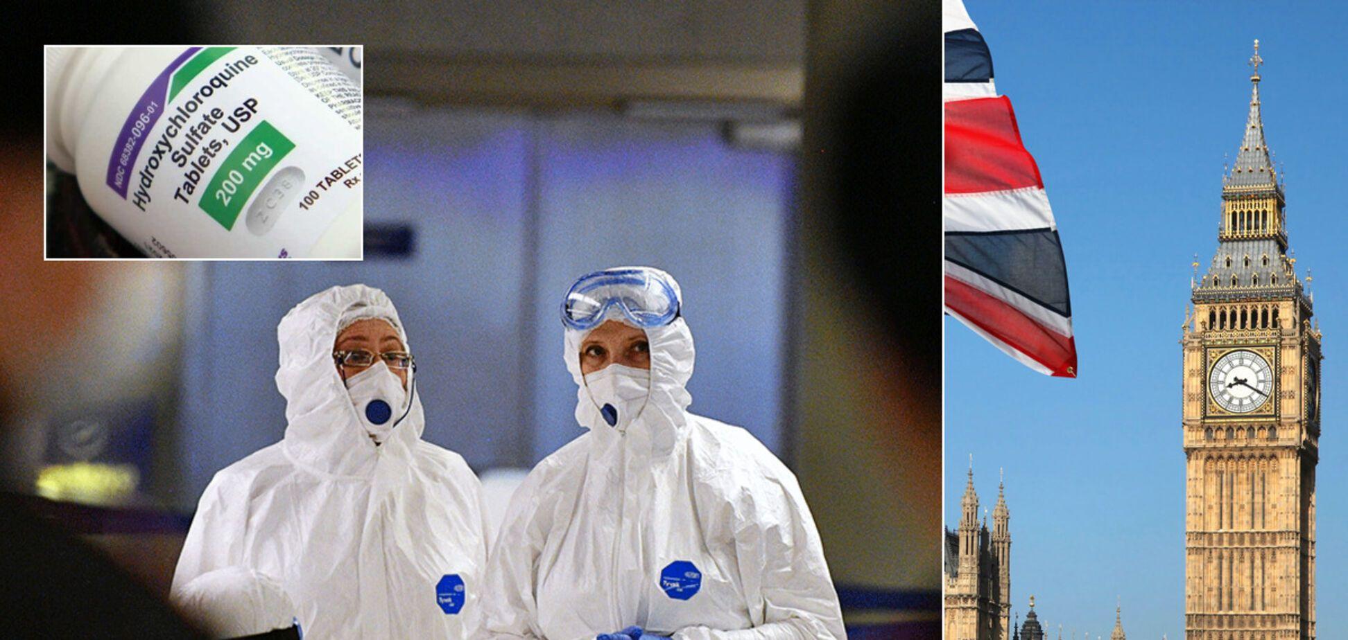 В Британии решили возобновить клинические испытания гидроксихлорохина, который считался опасным