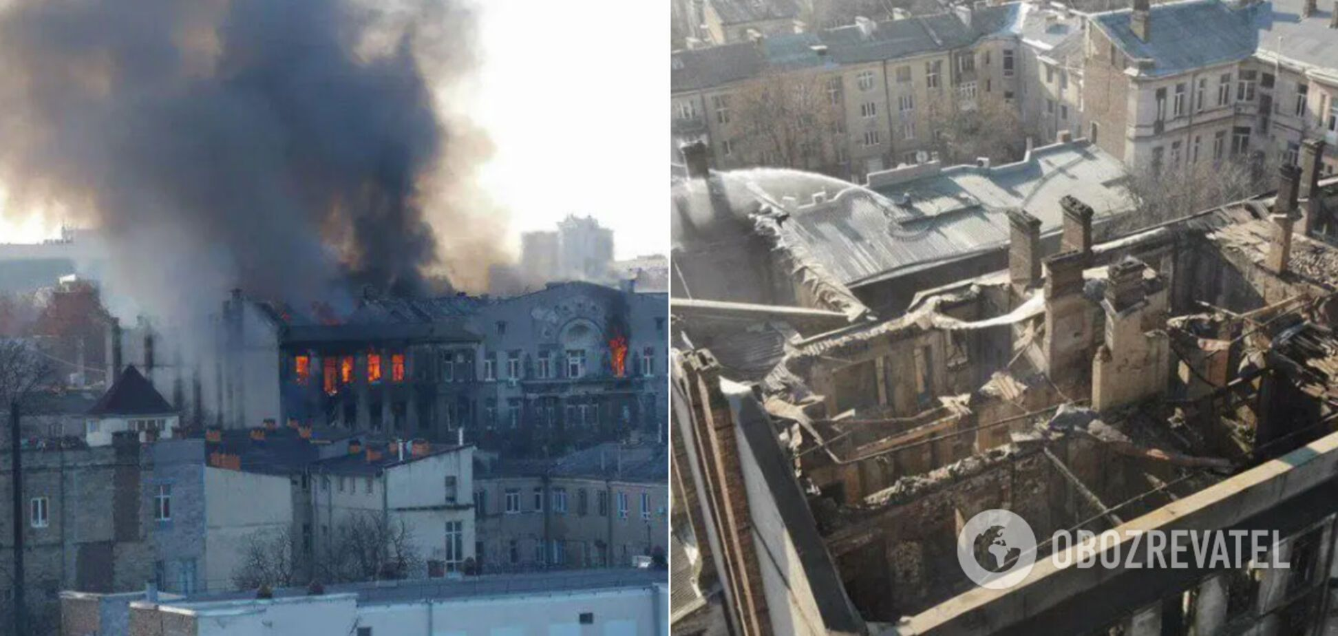 Названо обвинувачених у пожежі в Одеському коледжі, яка забрала життя 16 осіб