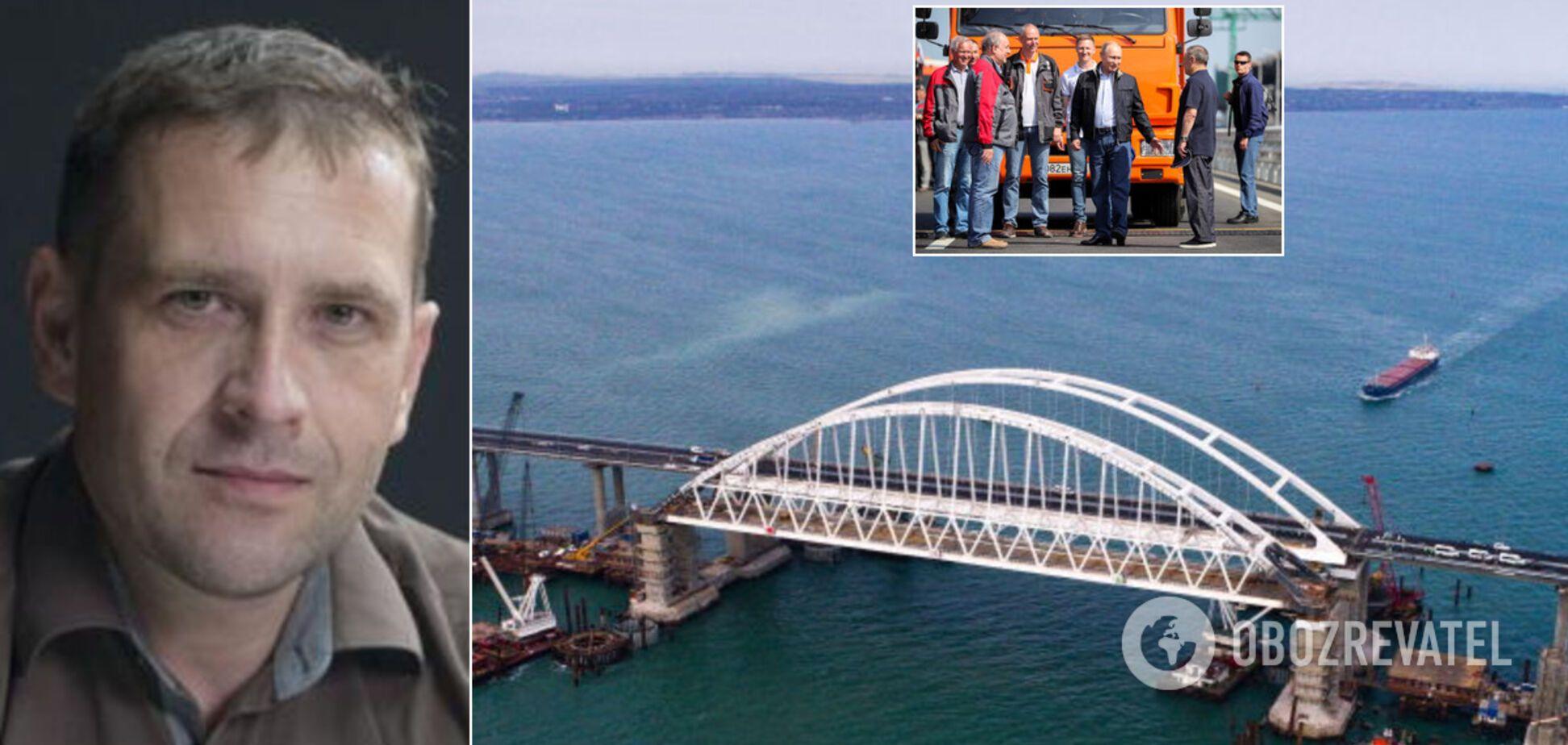 Крымский мост имеет специфический симптом, Кремль может превратить полуостров в ядерную базу, – Бабин