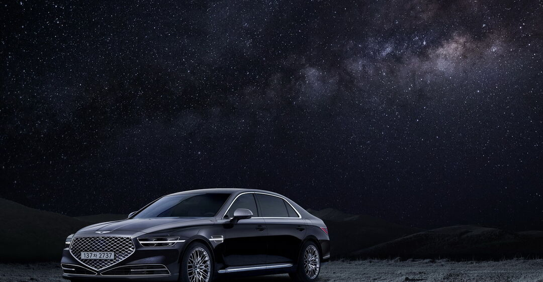 Genesis представил обновленный флагманский седан G90 и версию Stardust