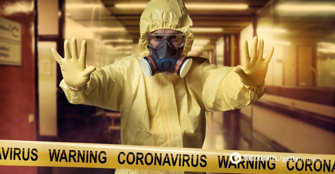 Карантин через коронавірус