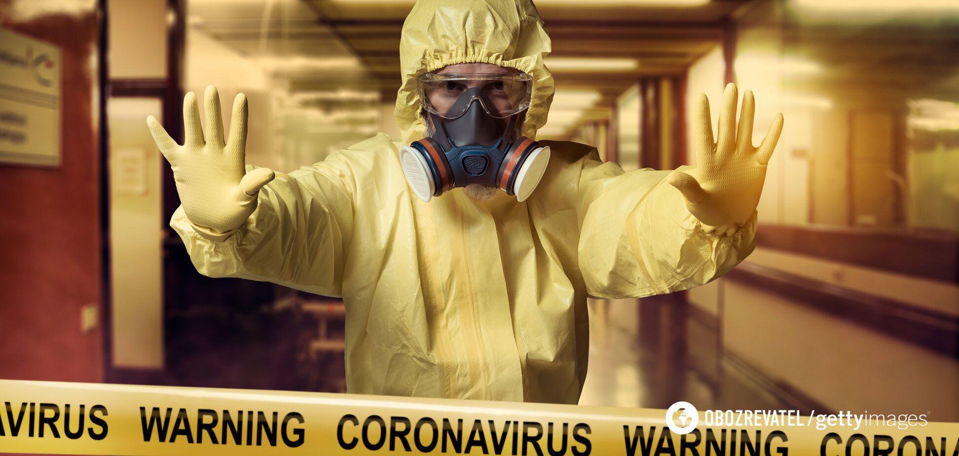 Карантин из-за коронавируса