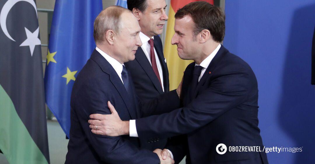 Президент Франції поклав відповідальність за розв'язання лівійського конфлікту на Туреччину і Росію