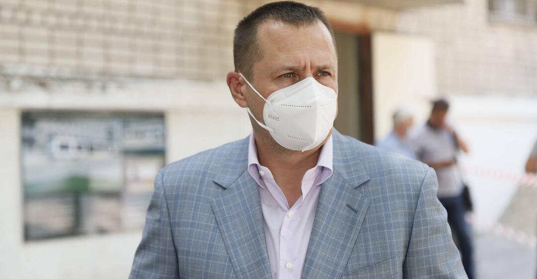 Филатов рассказал о ремонте в медцентре в Новокодакском районе