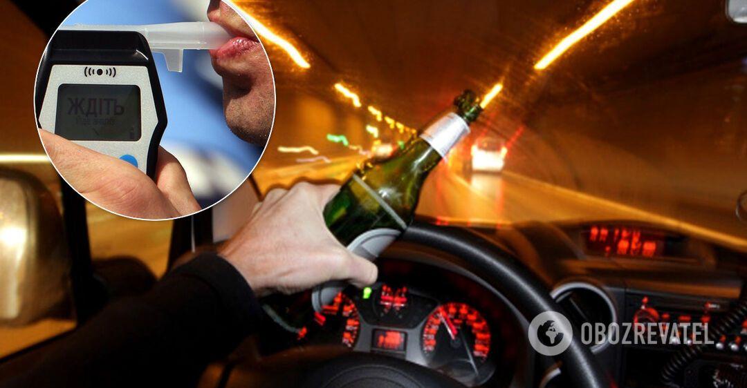 В Україні по-новому будуть карати за п'яне водіння: всі деталі