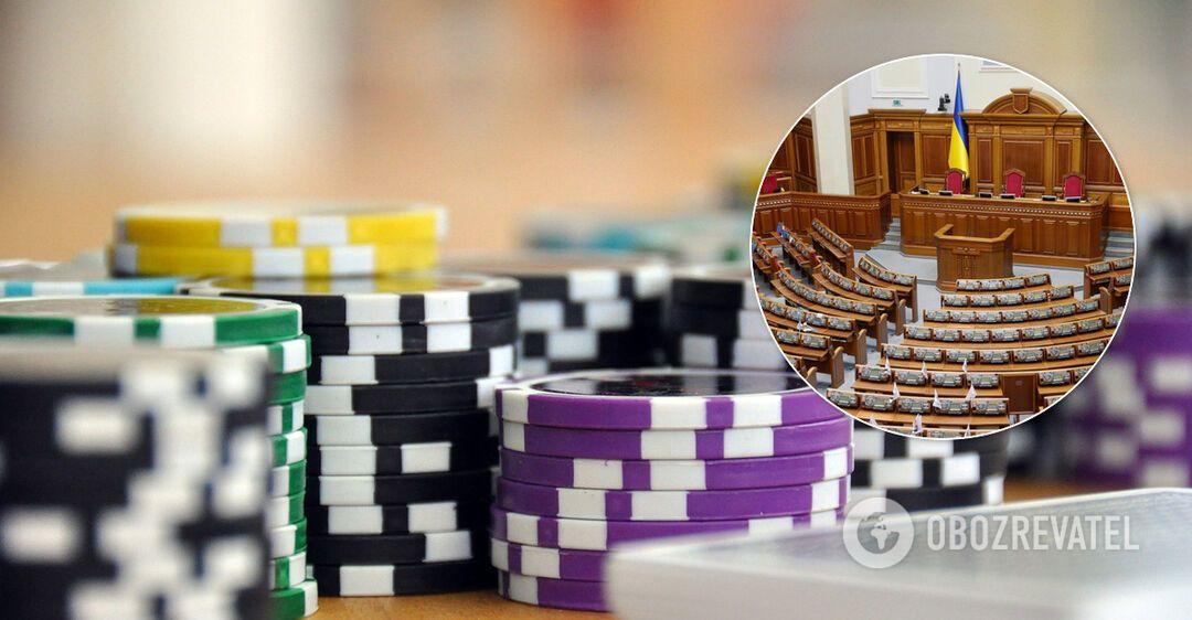 Разумков сказав, коли Рада розгляне 3500 правок до законопроєкту про казино