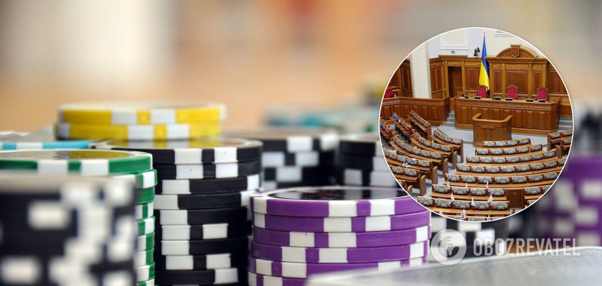 Разумков сказал, когда Рада рассмотрит 3500 поправок к законопроекту о казино
