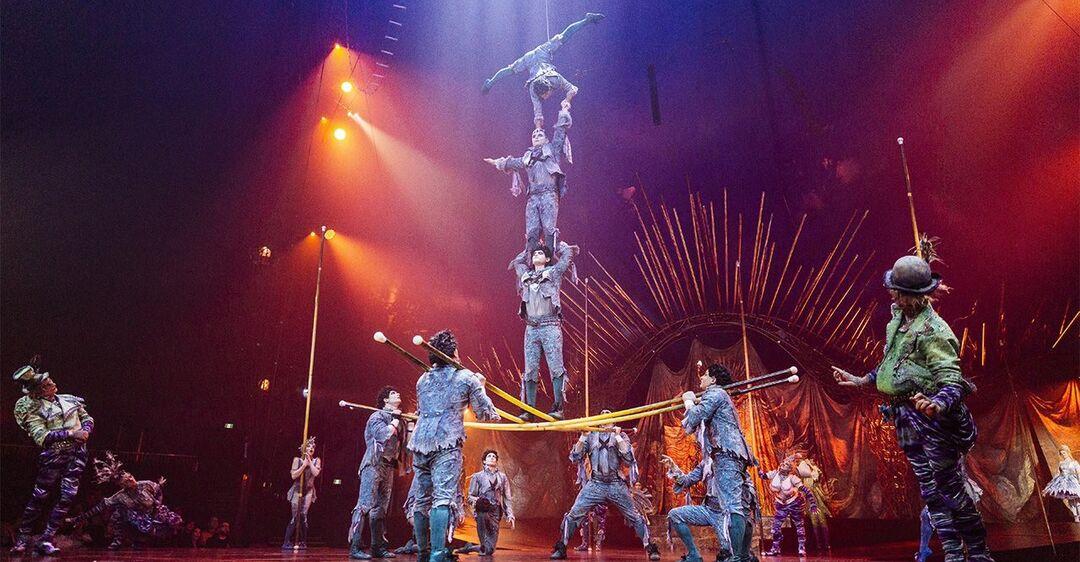 Цирк 'Дю Солей' объявил о банкротстве